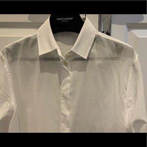 Saint Laurent button down shirt